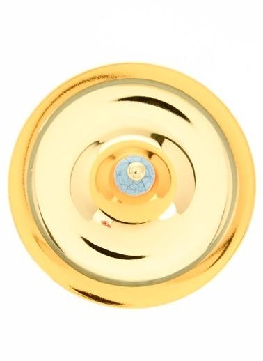 Aref By DECORİSTAN Taşlı Mini Altın Tek Katlı Sele Altın